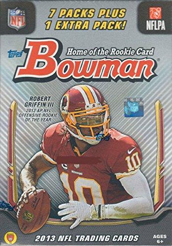 Bowman Nfl Football Cards Box - NFL Bowman 2013 Football Blaster Box Card Packs