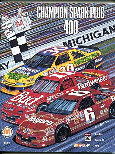 (Michigan International Speedway NASCAR Race Program 8/19/1988-Sam Bass-FN)