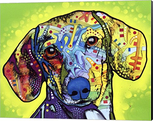 Used, Dachshund by Dean Russo Canvas Art Wall Picture, Museum for sale  Delivered anywhere in USA