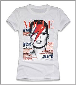 Camiseta Moss En De VogueAmazon es Kate Portada La Mujer 8O0ZNnkwPX
