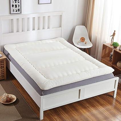 GJFLife Invierno Respirable Colchón Tatami Colchón Cubierta, Espesado Piso Dormitorio de Estudiantes Colchón Cubre colchón