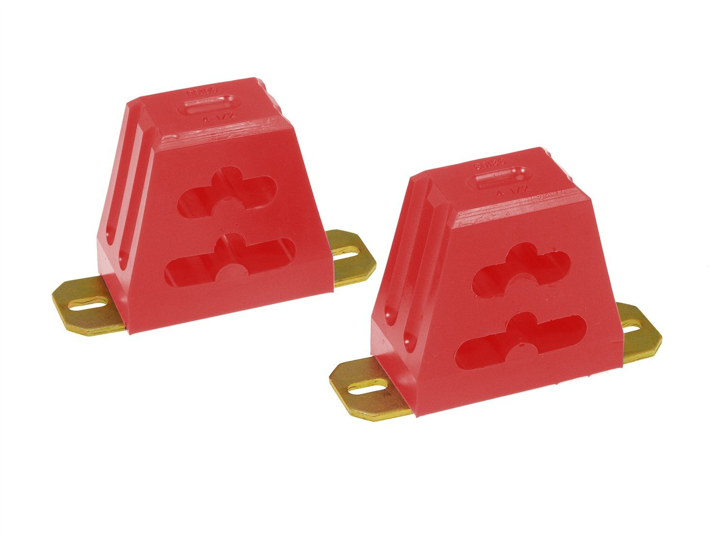 Prothane 19-1310 Red 4 Multi-Mount Suspension Bump Stop