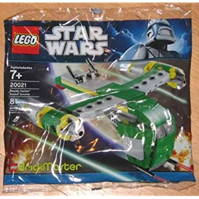 LEGO Star Wars BrickMaster Exclusive Mini Building Set #20021 Bounty Hunter Assault Gunship Bagged: Toys & Games