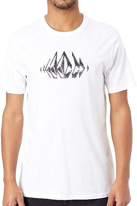 Volcom T-Shirt-Blanc-Coton bio