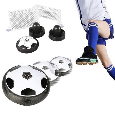 Air Power Fútbol con portería de fútbol, Disk Hover Ball, niños ...