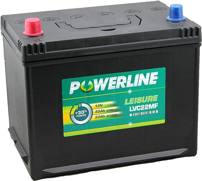 LVC22MF Powerline Leisure Battery 12V