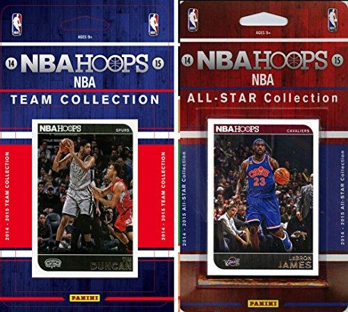 NBA San Antonio Spurs Licensed 2014-15 Hoops Team Plus All-Star Set, Brown, One Size