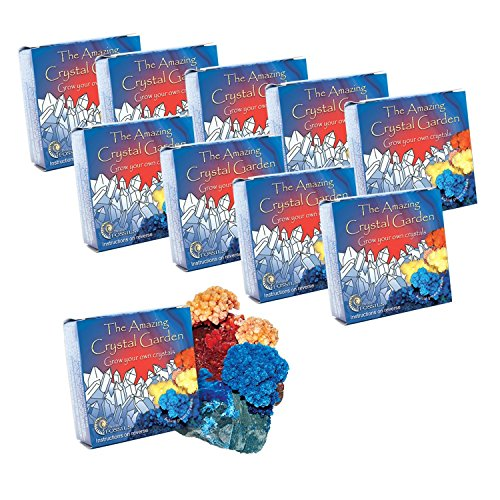 Grow Your Own Crystal (Grow Your Own Crystal Gardens x 10 - Party Bag Filler)