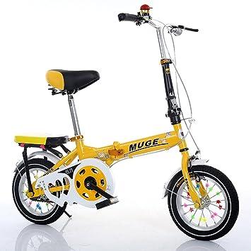 Bicicletas plegables para niños, niños y niñas Alumno Cuatro opciones de color Cuerpo de acero