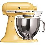 Batedeira Stand Mixer Artisan KitchenAid KEA33CY Majestic Yellow 127V
