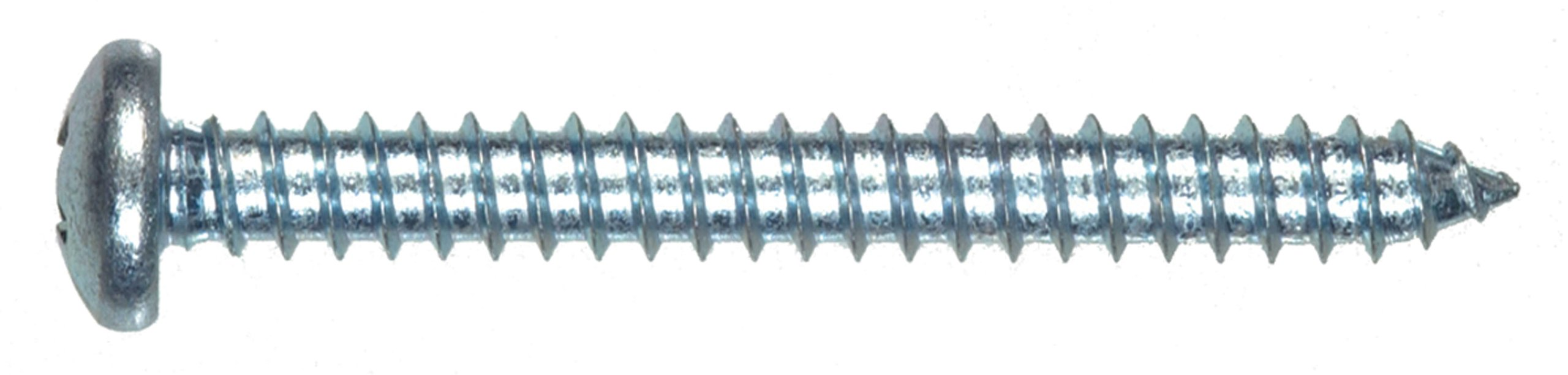 The Hillman Group 80101 12-Inch x 2-Inch Pan Head Phillips Sheet Metal Screw, 100-Pack