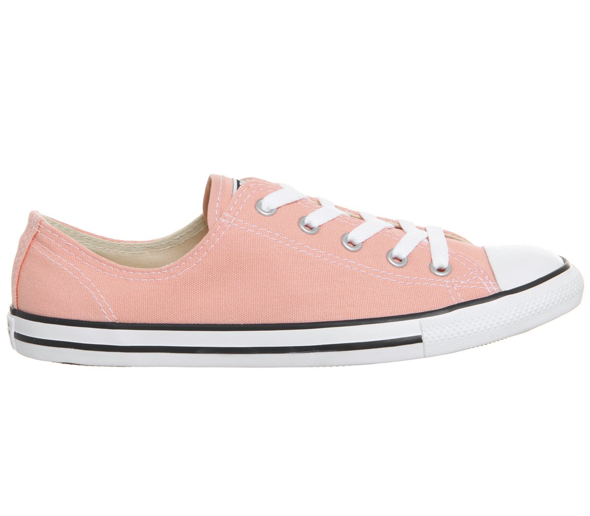 Converse Damen Chuck Taylor CTAS Dainty OX Canvas Fitnessschuhe  35.5 EU|Orange (Pale Coral/White/Black 689)