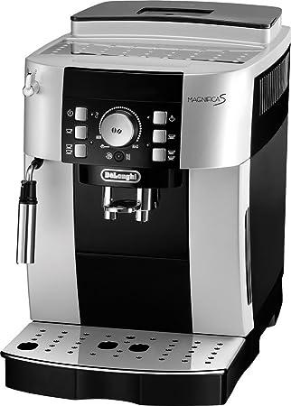 DeLonghi - Cafetera automática.ecam21116sb, 2 tazas en botón ...