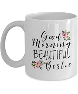 Best Friend Gift Mugs Birthday Good Morning Bestie