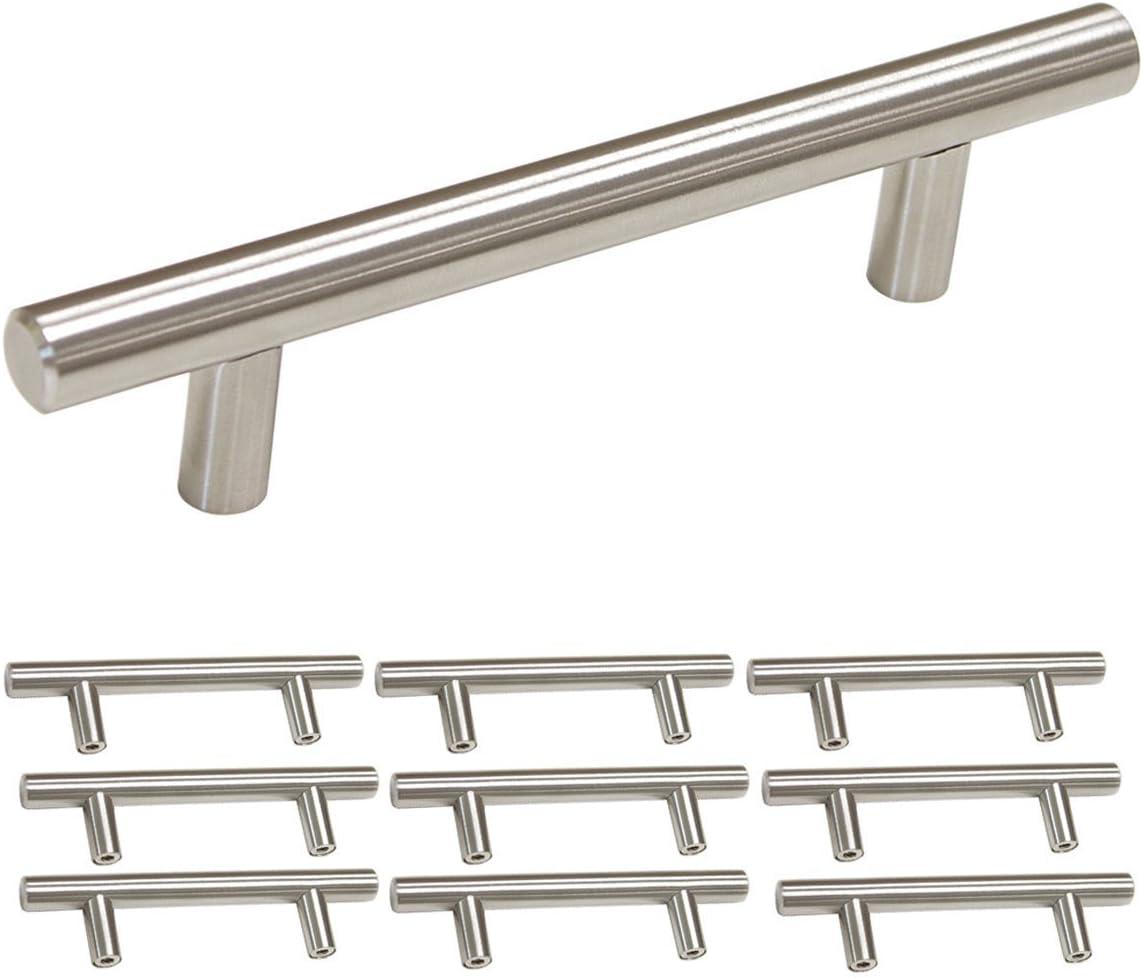 Haus /& K/üche Modern Diamant Schublade Tuer Griff KING DO WAY 10PCS Kristall Moebelgriff Stangengriff f/ür Schr/änke Schrank Schublade 96mm