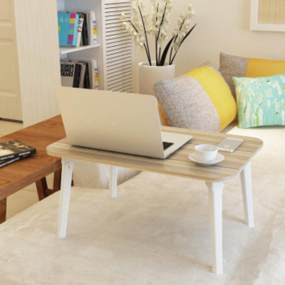 調節可能な 折りたたみテーブルシンプルな折り畳みコンピュータデスクベッド学生デスクレイジーデスク8色オプション60 * 40 * 29センチメートル 回転することができます ( 色 : C ) B07C2WSG7V C C
