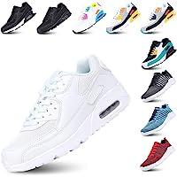 Zapatillas de Deportivas para Mujeres Zapatillas Correr Hombre Sneakers Cordones Plataforma Running Gimnasia Ligero…