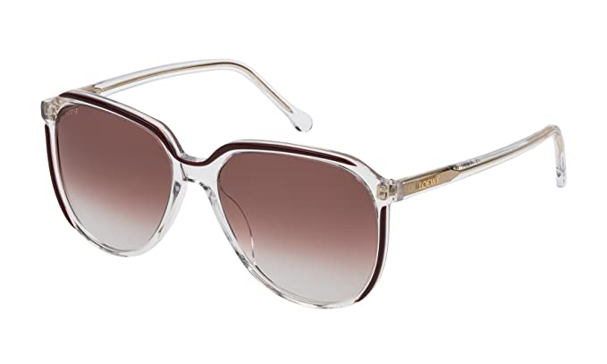 Loewe SLW962M5606RZ, Gafas de Sol para Mujer, Burgundy ...