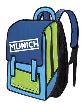 Munich 2D Mochila Tipo Casual, 35 cm, 10 litros, Azul: Amazon.es: Equipaje