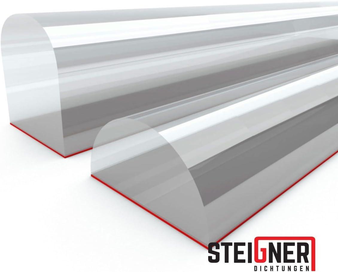 STEIGNER Kitchen Plinth Sealing Strip LU 18 mm//19 mm 1.5 m Black Molding for Kitchen Plinths Seal Kickboard