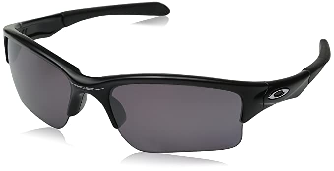 1a590cd18f Amazon.com  Oakley Quarter Jacket Sunglasses Matte Black Prizm  Clothing