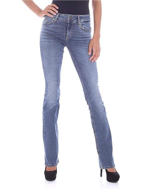 Liu Jo Jeans Bottom-Up Repot U68032D4255  Amazon.it  Abbigliamento a81a0565cef