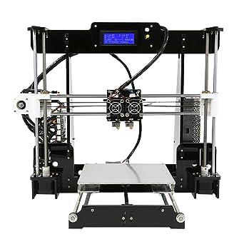 Impresora 3D A8-M Doble extrusora Impresión en dos colores Prusa ...