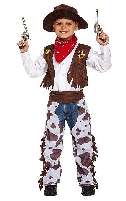 Disfraz infantil vaquero MEDIANO 7-9 AÑOS  Amazon.es  Juguetes y juegos b40e51b8116