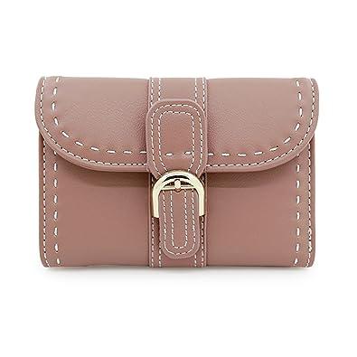 bddcb2a87af7 ミニ財布 レディース 三つ折り 人気 小さい財布 かわいい 革 ウォレット おしゃれ カード小銭入れコイン