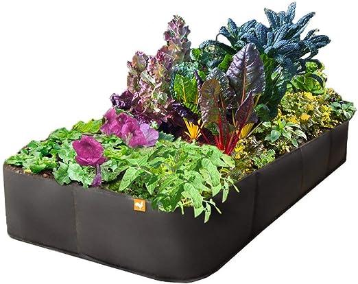 Victory 8 Garden Victoria 8 Tela jardín Aumentado de la Cama 2 x 4 Negro: Amazon.es: Hogar