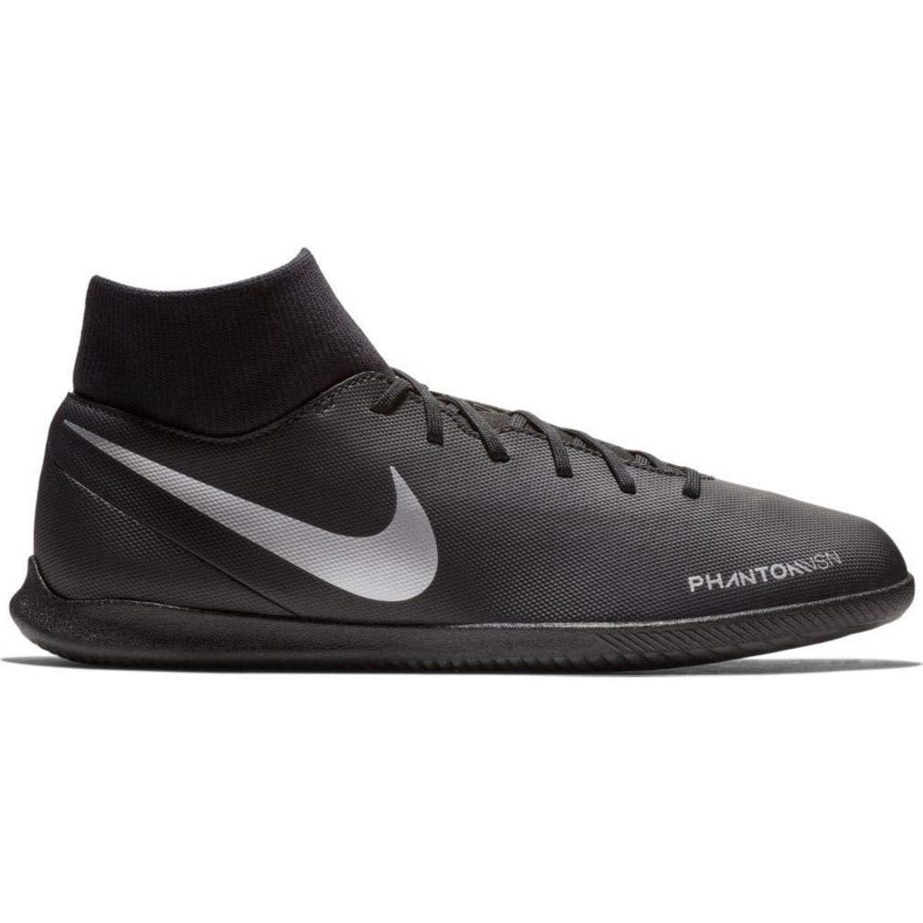 wholesale dealer b95be 5725b Amazon.com | Nike Men's Phantom Vision Club Dynamic Fit Indoor Soccer Shoes  (Black/Silver) | Soccer