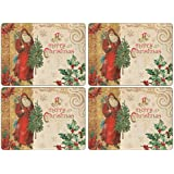 Pimpernel Victorian Christmas Placemats - Set of 4