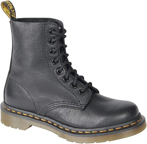 Womens Dr Martens Pascal Virginia Leather Smooth Retro Punk Calf Boots