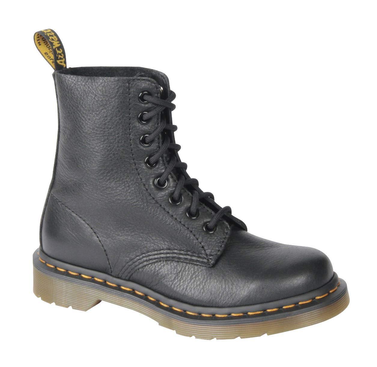 Dr. Martens Women's Pascal Combat Boot, Black, 5 UK/7 M US by Dr. Martens