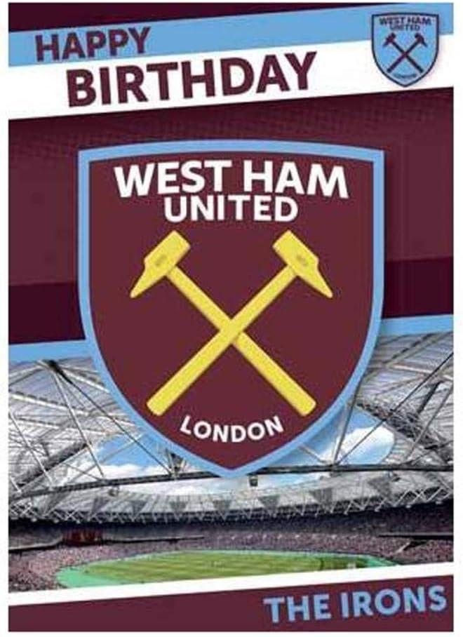 Fleecedecke mit West Ham United Wappen