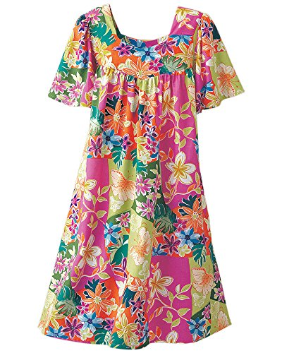 Womens National Print Dress Tropical Pink Floral Misses wpqIRpC