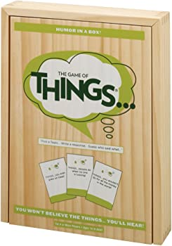 PlayMonster The Game of Things (Wooden Box)