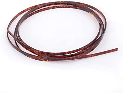 Musiclily 1650x3x1.5mm Plastic Binding Purfling Strip for Acoustic Classical Guitar Abalone Shell