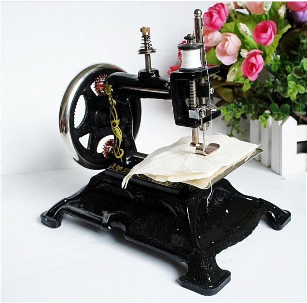 Antigua máquina de coser de simulación puede componer ropa pantalones Use tienda de ropa / café / muebles adornos: Amazon.es: Hogar