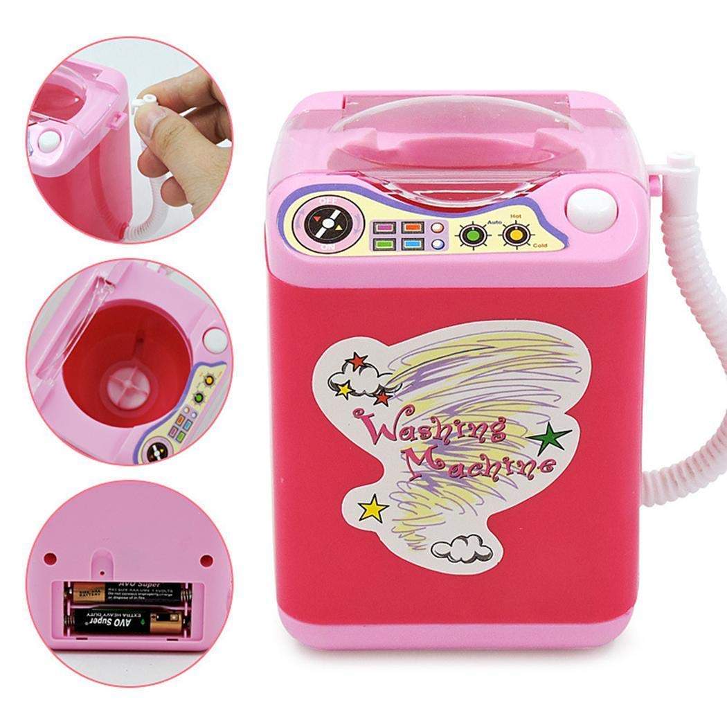 Ladiy Children Washing Machine Toy Mini Simulation Furniture Toys Makeup Brush Cleaner Play by Ladiy (Image #7)