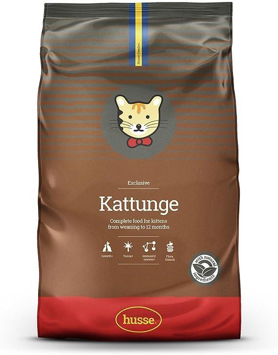 Husse - Kattunge 7 Kg | Pienso Gatos | Sabor Pollo | Prevención Bolas de Pelo Ingredientes: Amazon.es: Productos para mascotas