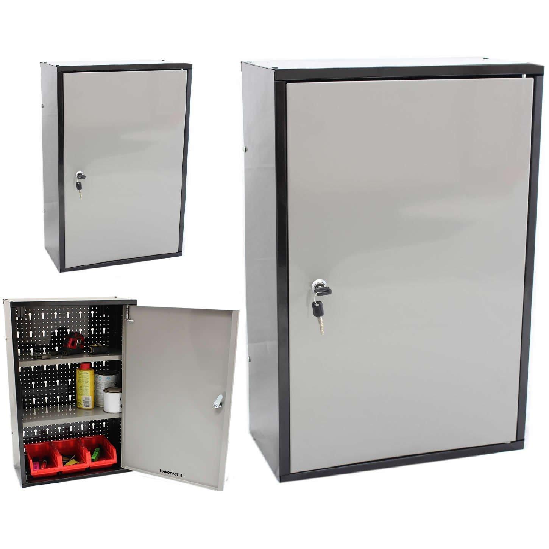 Hardcastle Lockable Metal Garage/Shed Storage Cabinet: Amazon.co ...
