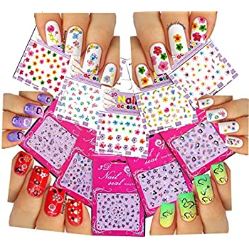 Npw Usa Get Emojinal Nail Art Sticker Decals Inc Np37111