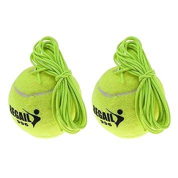 Injoyo 2pcs Pelota De Entrenamiento De Tenis Pelota De Cuerda ...
