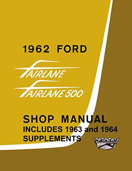 Ford drivetrain user manuals array amazon com bishko automotive literature 1962 1963 1964 ford rh amazon com fandeluxe Gallery
