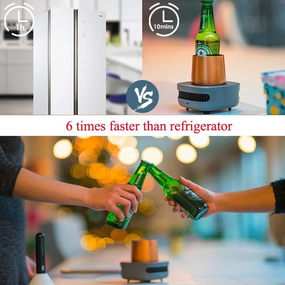 Warmer Coasters vacío del relieve de la taza del mini frigorífico ...
