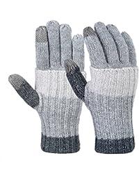 Warm Winter Gloves Fashion Long Arm Knit Gloves Outdoor Full-finger Mittens for Women Girls