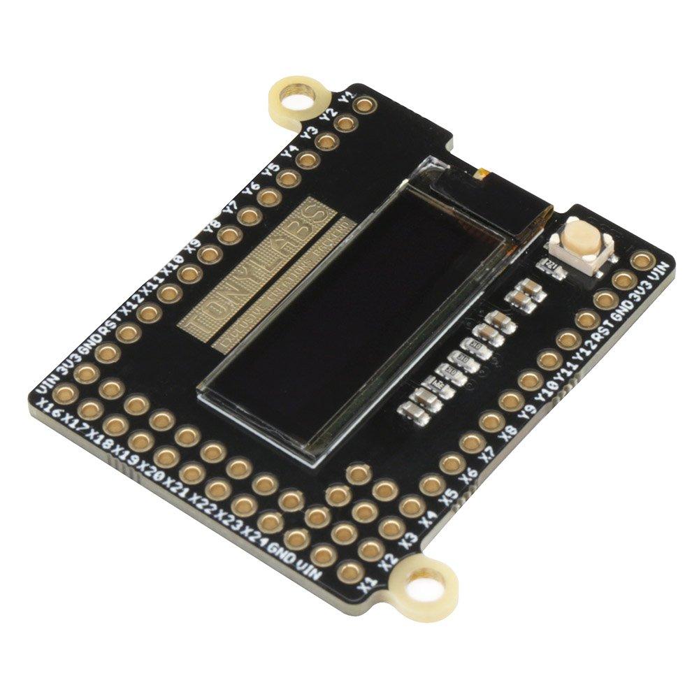 0.91'' 128x32 OLED Skin for PyBoard Tinysine