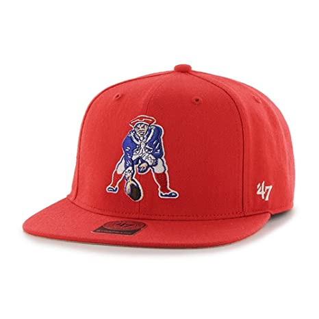 69f4942e955fb Image Unavailable. Image not available for. Color   47 England Patriots  Brand Super Shot Red Strapback Hat