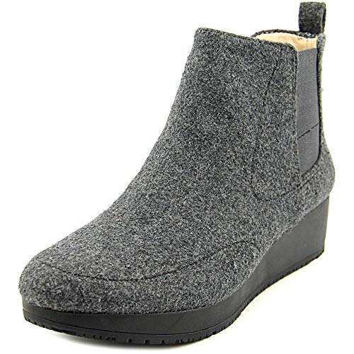 Scarlet Wedge Boots 5 Dr 6 US Suede Scholl's M B Charcoal Meringue Women's qCtafw